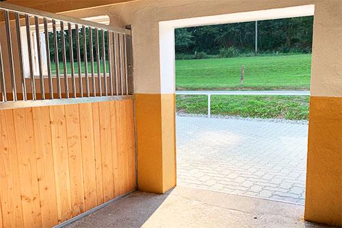 Reitstall Jung Pferde Pension Paddock
